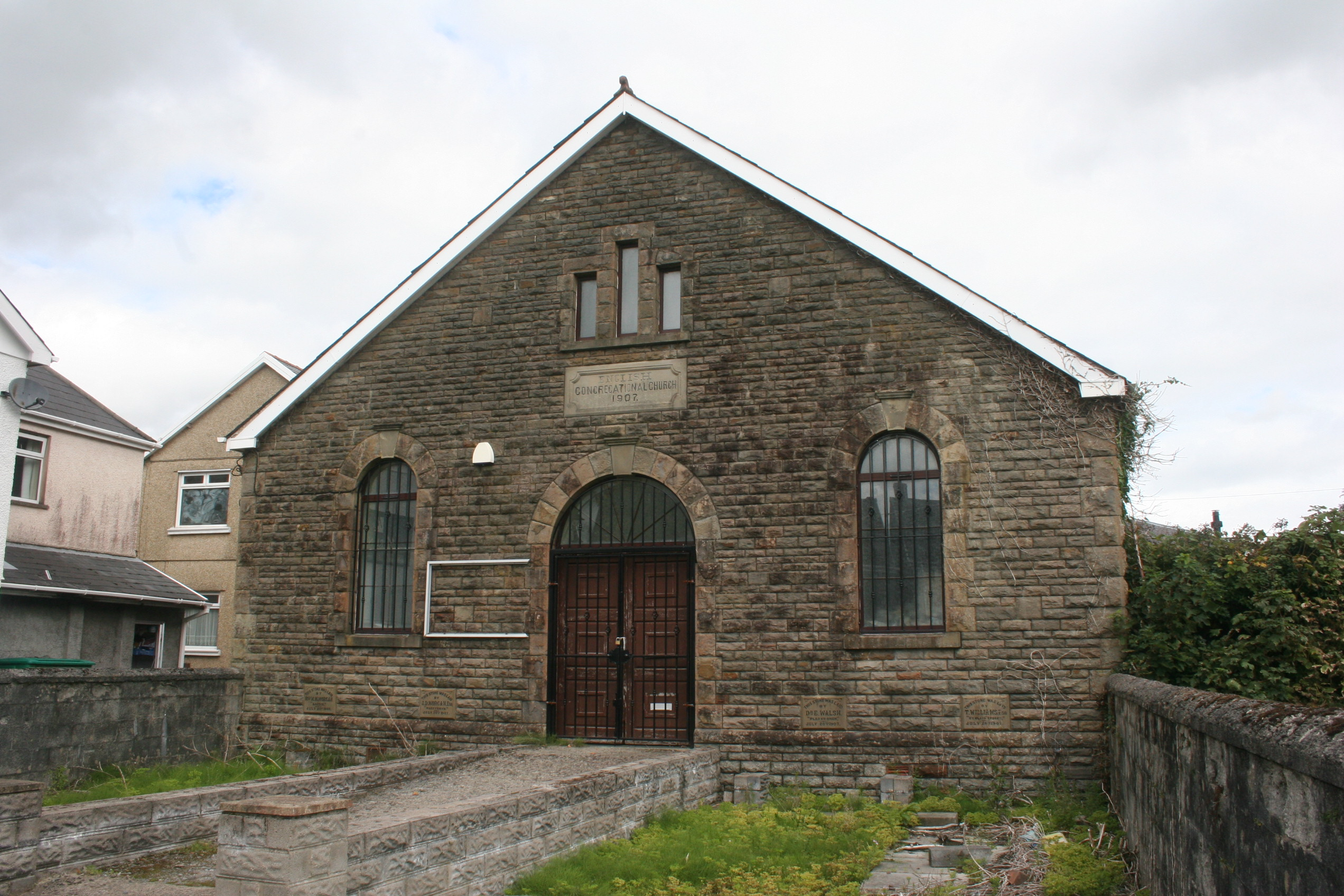 The English Congregational Church, Ystradgynlais